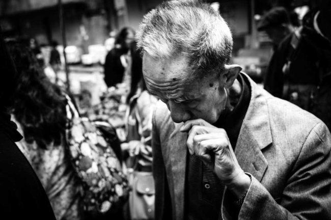 Street photography portrait Hong Kong