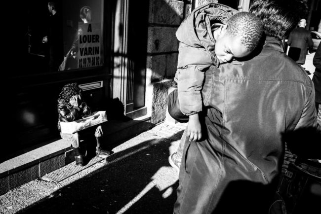 Ici mais ailleurs street photography Rennes France